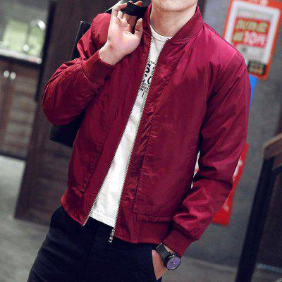 Slim Classic Zipper Jacket