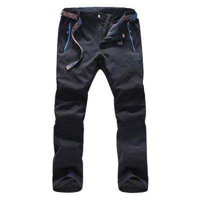 Men's Fashion Waterproof and Wearable Mesh Men's Trousers Slim and Quick-Drying Pants