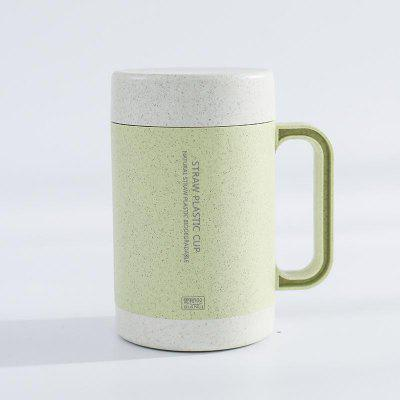 The Straw Ceramic Wheat Mug Cups Facilitate Home Drinking Coffee Tea Cups.