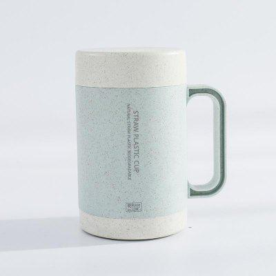 The Straw Ceramic Wheat Mok Cups Faciliteren Home Drinken Koffie Thee Cups.