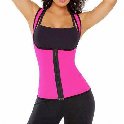 Fashion Sports Vest Sweat Enhancing Waist Training Corset Trainer Suit Hot Shaper for Women