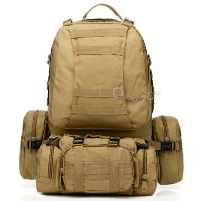 Nylon Waterproof Tactical Outdoor Molle Assault Military Rucksacks Backpack Camping Bag
