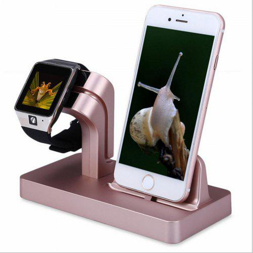 Fashion Docking Station Bracket Charger Office Car Home Desktop Storage  Mobile Phone Cradle Stand Holder Iwatch Iphone 5 5s 6 6s 7 8 X