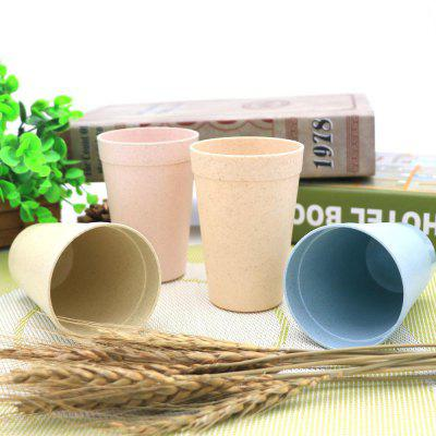 Wheat Creative Cup Four Sets Of Plastic Travel Lovers Set Picnic Traveling Mug.