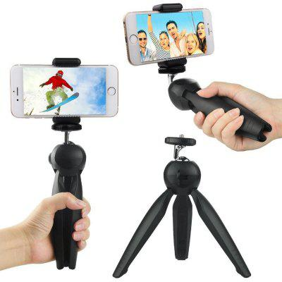 Fashion Tripod Flexible Portable Stand With Phone Holder Clip & Ball Head Digital Dslr Camera Smartphone