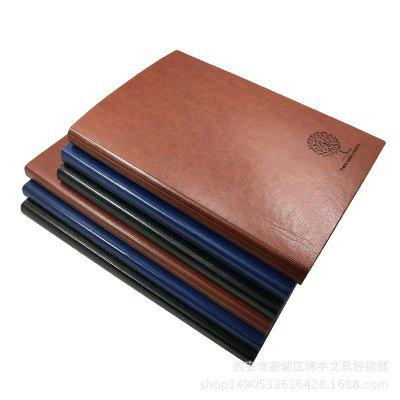 Notebook Leather Stationery Notepad Custom-made Diary Business Office Creative Paperback A5