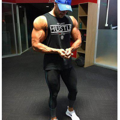Mens Shirt Bodybuilding Golds Gyms Sporting Hem Cotton Men Tee Black White Basic Tank Top