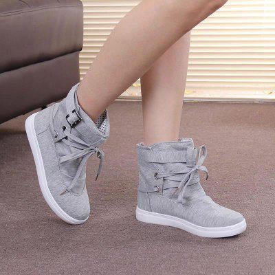 Casual Shoes Flat Stylish Solid Color Design