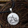 Trade Yin-Yang Yoga Personalized Necklace Accessories Pendants Long Jewelry Accessories Men - ANCIENT SILVER