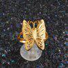 Sweet 18k Real Gold Butterfly Opening Ring Version Of Female Fashion Accessories Manufacturers Source - OPEN RINGS