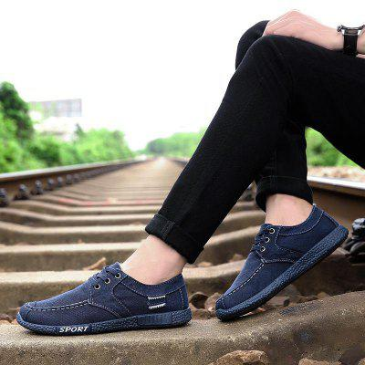 Spring And Autumn Single Shoes Washable Soya Bean Shoes Men'S Casual Shoes