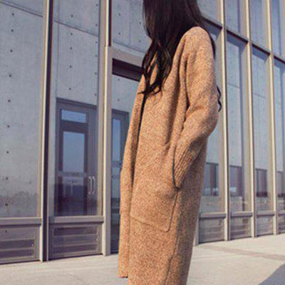 Knitted Warm Casual Loose Cardigan