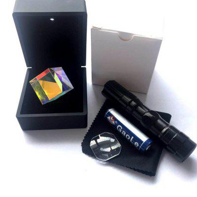 Color Cube Prism Processing Triangular Optical Glass Lens