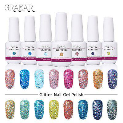 Shiny Nail Polish Gel Sequins Phototherapy Gel Flash Diamond Barbie Nail Polish Glue Removable And Durable