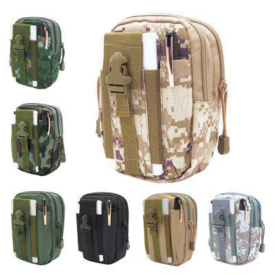Outdoor Sports Pockets Sports Outdoor Tactical Belt Camouflage Pockets Waterproof Multifunctional Pockets Laser Pockets