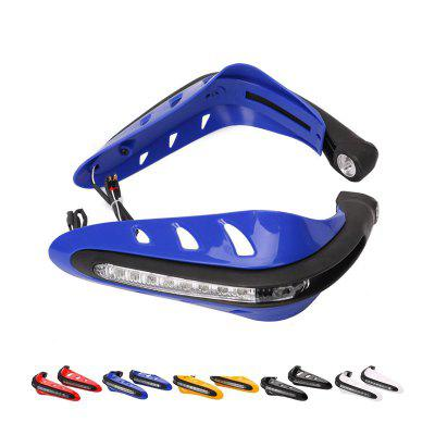 Motorcycle Accessories Modified Front Hand Windshield Hand Guard Cover LED With Lights Daytime Running Lights Shatter-resistant Bow