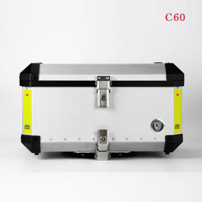 Chengwei Large Aluminum Alloy Tail Box Motorcycle Trunk Storage Box Locomotive Supplies Motorcycle Accessories