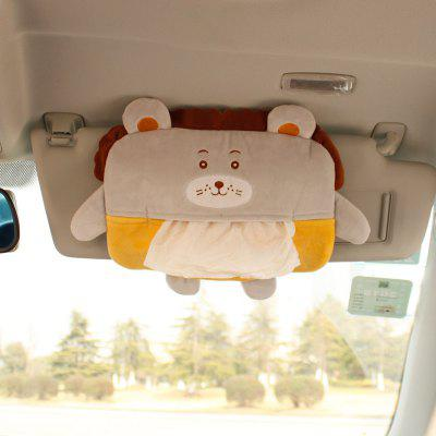 New Cartoon Creative Car Hanging Tissue Box