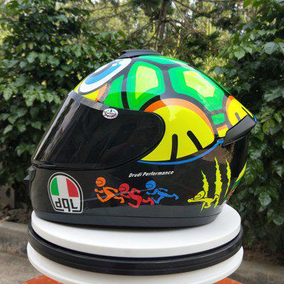 Motorcycle Helmet Full Face Dgl Brand Turtle Fashion Four Seasons Racing Personality