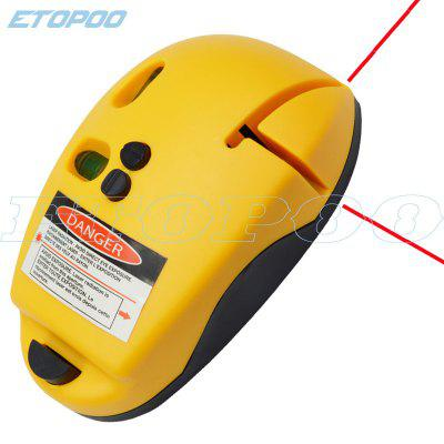 90 Degree Infrared Laser Level Level Level Decoration Line Tool Mouse Type Ground Line Upgrade Color Box