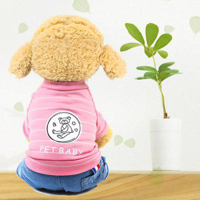 Pet Clothes Dog Clothes Four-legged Clothes Spring And Summer Autumn New Gentleman Cowboy