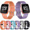 Nylon Strap Versa Canvas Watch With Denim One-woven Hand for iWatch - PINK
