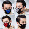 Sports Mask Riding Outdoor Dustproof Sand Protection Breathable Comfortable Black Anti-fog Mask - GRAY