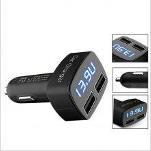 Gearbest price history to 3.1A Four-in-one Dual USB Car Charger Temperature Display