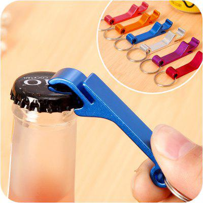 Multifunctional Beer Can Opener With Key Ring Creative Gift Alloy Bottle Opener