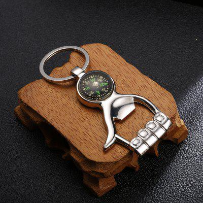 Metal Opener Key Car Pendant