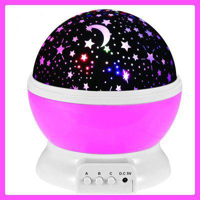 Sales Sky Stars Empty Lights Rotating LED Star Projector Lights Star Lights Starry Sky Stars Creative