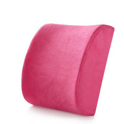 Memory Cotton Lumbar Pillow Pillow Office Waist Car Seat Lumbar Support Lumbar Cushion Pillow Chair Back Cushion Waist