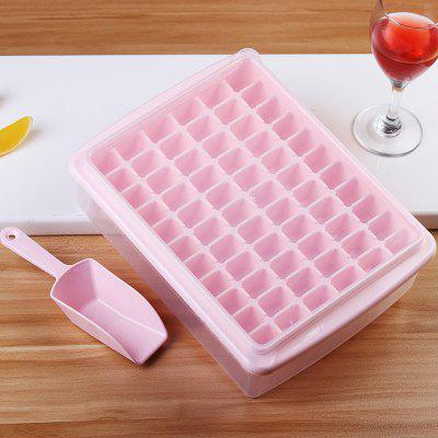 Grid With Lid Sealed Crisper Ice Cubes Small Ice Cubes Ice Box to Send Ice Shovel