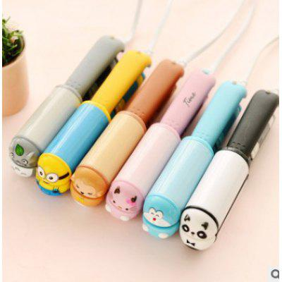Korea Mini Cartoon Animal Electric Plywood Straight Roll Dual-use Curler Hair Curlers Cute Creative Hair Straightener