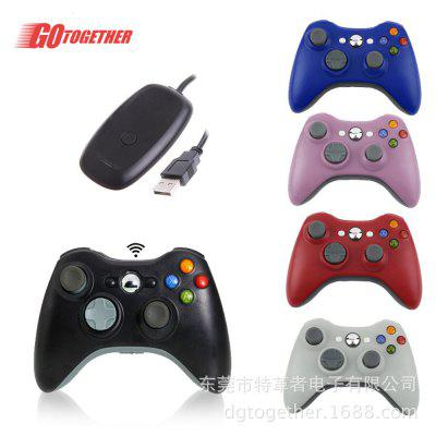 2.4G Wireless 360 Handle PC360 Wireless Game Controller With Receiver XBOX360 Computer PC PS3 Pass