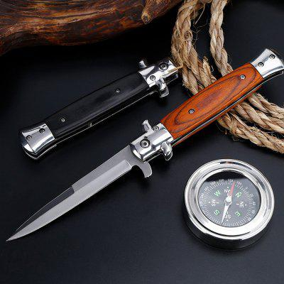 Tactical High Hardness Folding Knife Field Survival Multi-function Outdoor Self-defense Knife