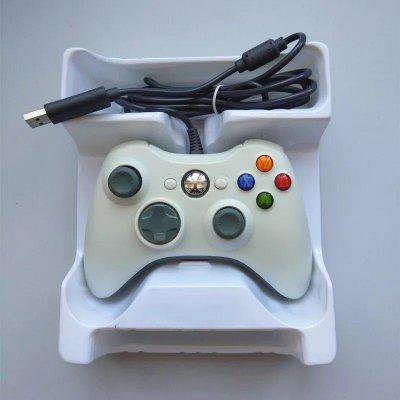 Computer Game Controller Pc Handle X360 Shape Wired Game Controller With Vibration