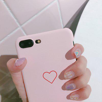 Simple Small Love Mobile Phone Case
