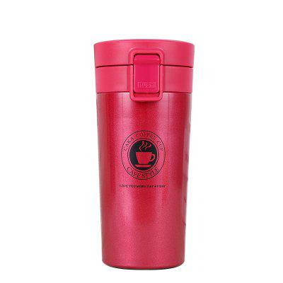 Coffee Cup 304 Stainless Steel Fashion Mug Student Creative Vacuum Flask Thermose