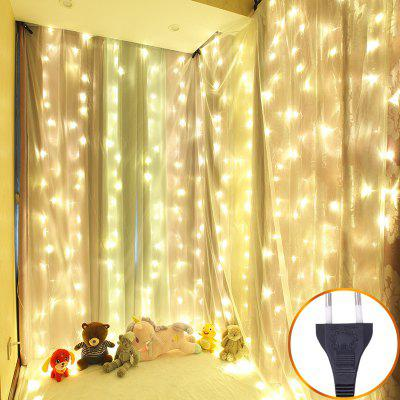 LED Rideau String String Vibrant Artifact Fille Coeur ...