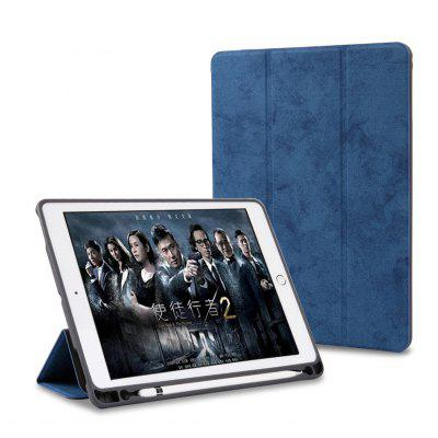 Leather Soft Protective Cover with Pen Slot for Ipad