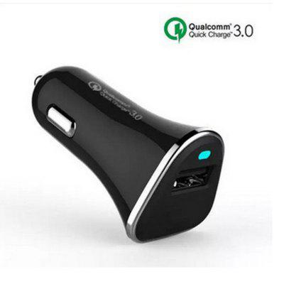 Single-port  Qc3.0 Intelligent Fast Charging Intelligent Multi-purpose Car Charger