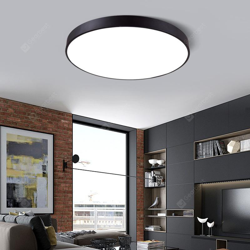Ultra-thin Ceiling Lamp Round LED Living Room Lamp Wall Mounted 5cm Bedroom  Lamp Restaurant Study Aisle Porch Balcony Lamps