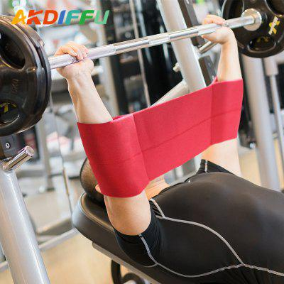 Weightlifting Fitness Bench Press Slingshot Squat Strength Protection Elbow Joint Resistance Bandage Elastic Band