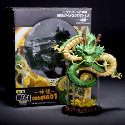 Anime Dragon Model Office Toy with Ball Toy Ornament
