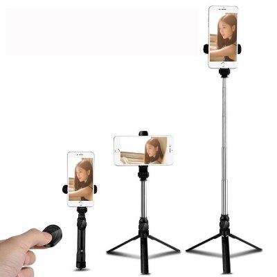 Tripod Selfie Stick Phone Vertical And Vertical Selfie Stick Mini Bluetooth Selfie Shake Live Stand