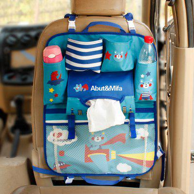New Car Seat Storage Bag Back Seat Back Pocket Multi-purpose Baby Supplies Hanging Bag
