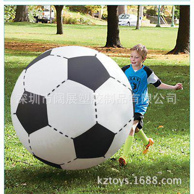 Inflatable Oversized Football Beach Ball Inflatable Football Baby Ball Children's Toy Football Child Parent-child Activity Football