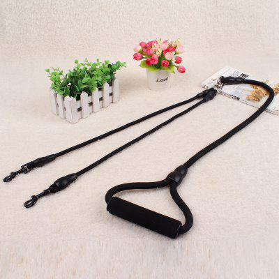Double Hook Multi-function Dog Leash Nylon Chain