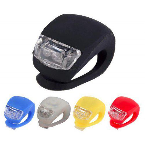 Bicycle Cycling Bike Silicone Warning Front//Rear Frog Lights Waterproof Red